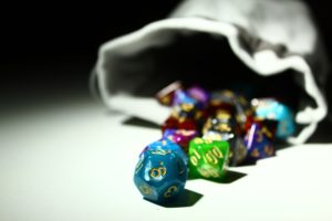 Dice Bag for the Game Master